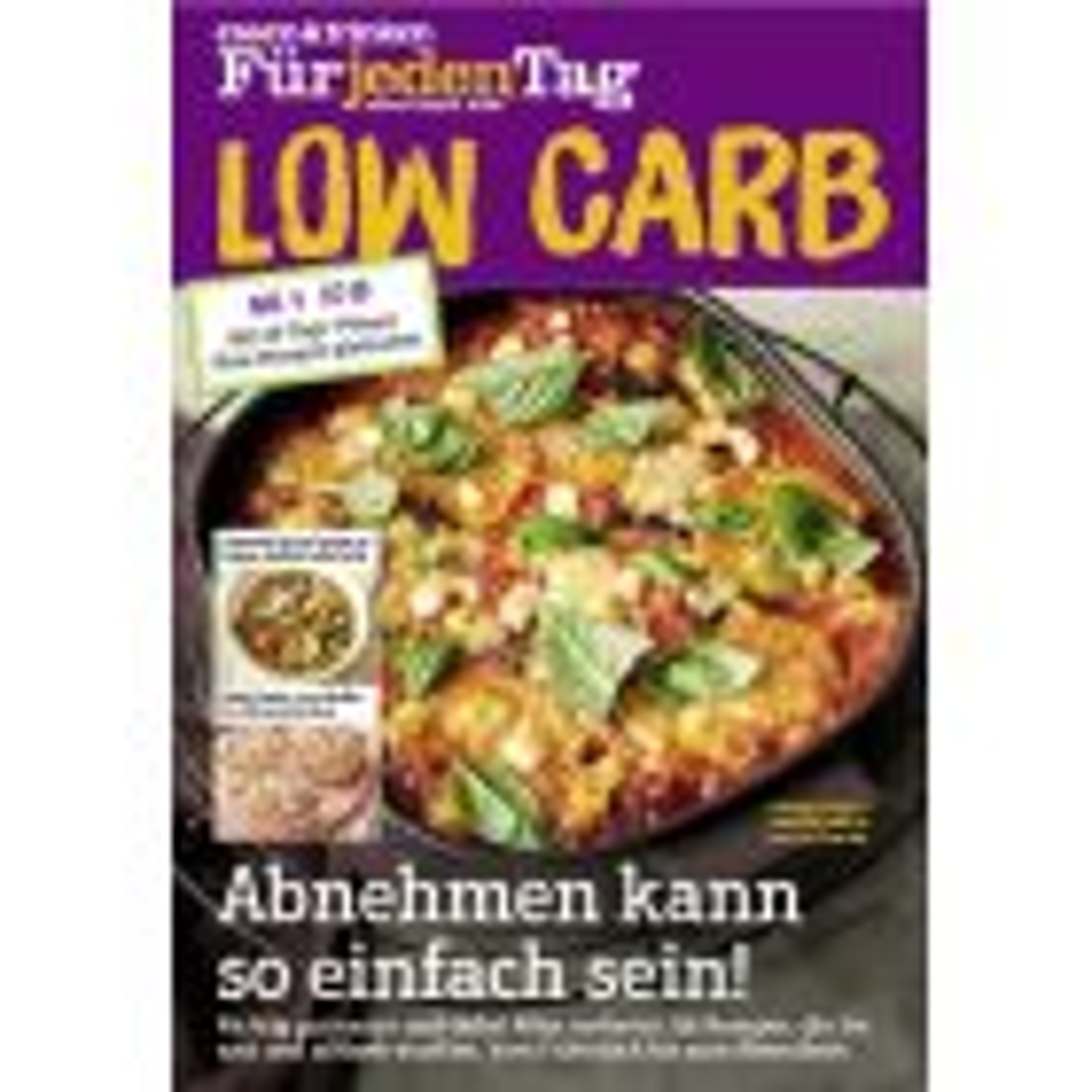 essen & trinken Für jeden Tag - Spezial Low Carb 04/2019